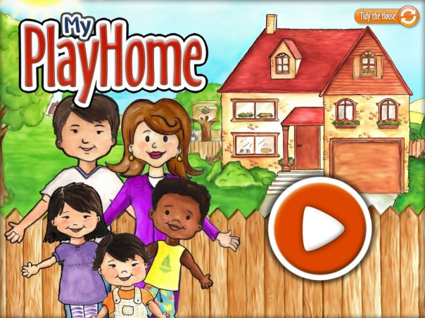 home screen - my playhome
