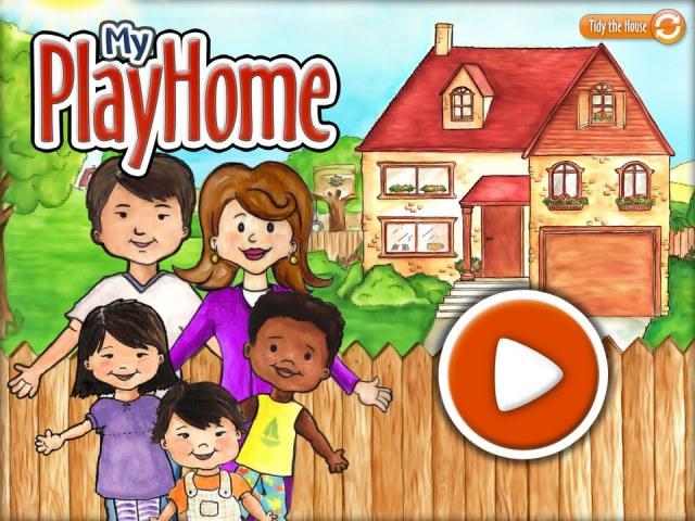 home screen - my playhome