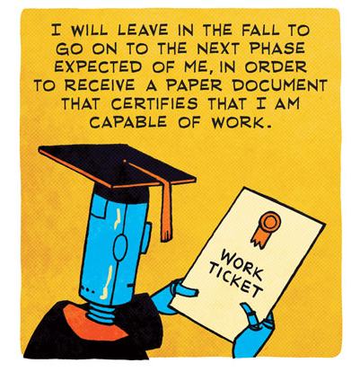 zen pencils - work ticket